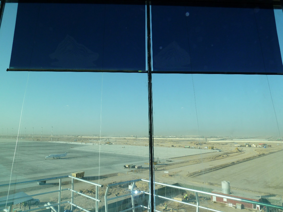 Air traffic control tower glazing and solar blinds by Tex ATC