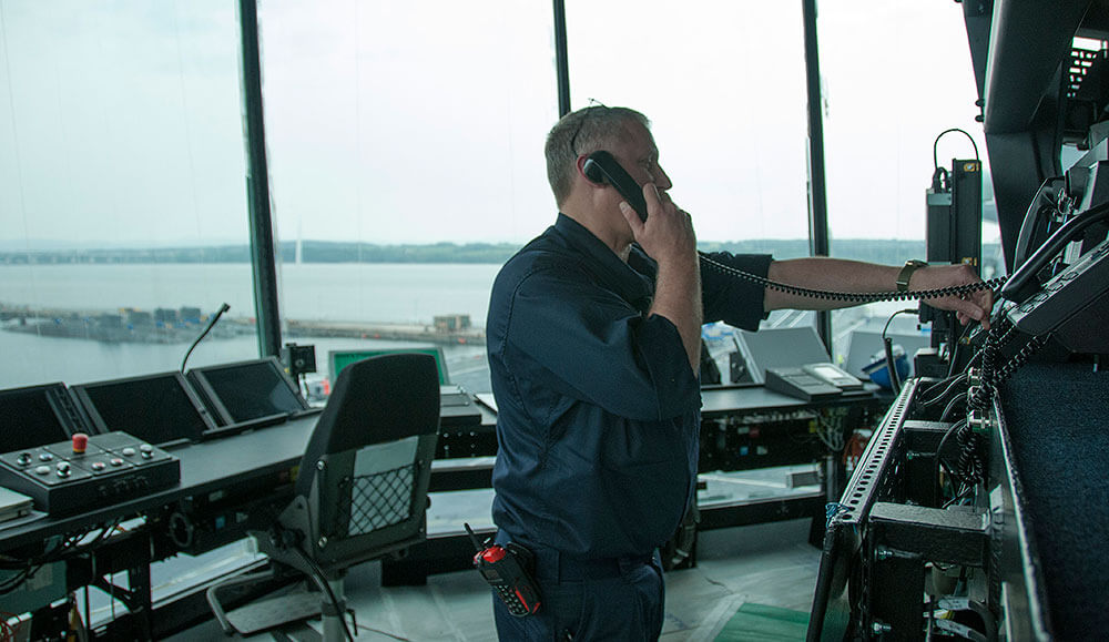 Glazing by Tex ATC for the innovative FLYCO visual control room on the Queen Elizabeth Class Aircraft Carrier