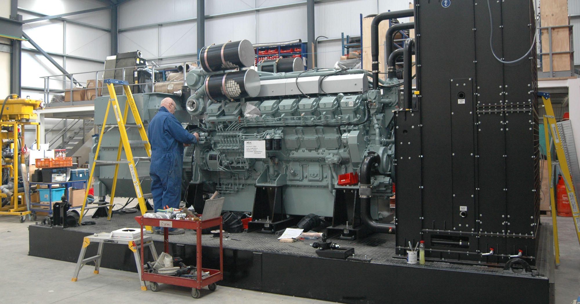G&M Tex are the internationally recognised leader in the design and manufacture of bespoke generators and control systems for marine vessels such as Royal Navy Destroyers and superyachts, offshore environments including oil and gas platforms, and critical backup power systems for airports, data centres and hospitals.