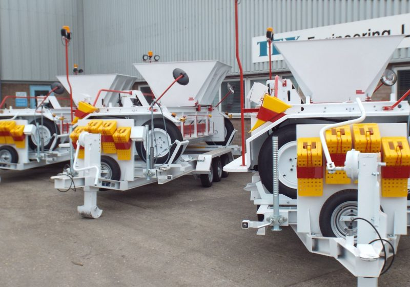 For over 40 years, Tex Engineering have manufactured robust construction equipment for the highways and utilities industry, trailers for marine applications and a range of innovative kiosks. Tex Engineering are proud to count international, national and regional retailers, councils, commercial businesses and private users as clients