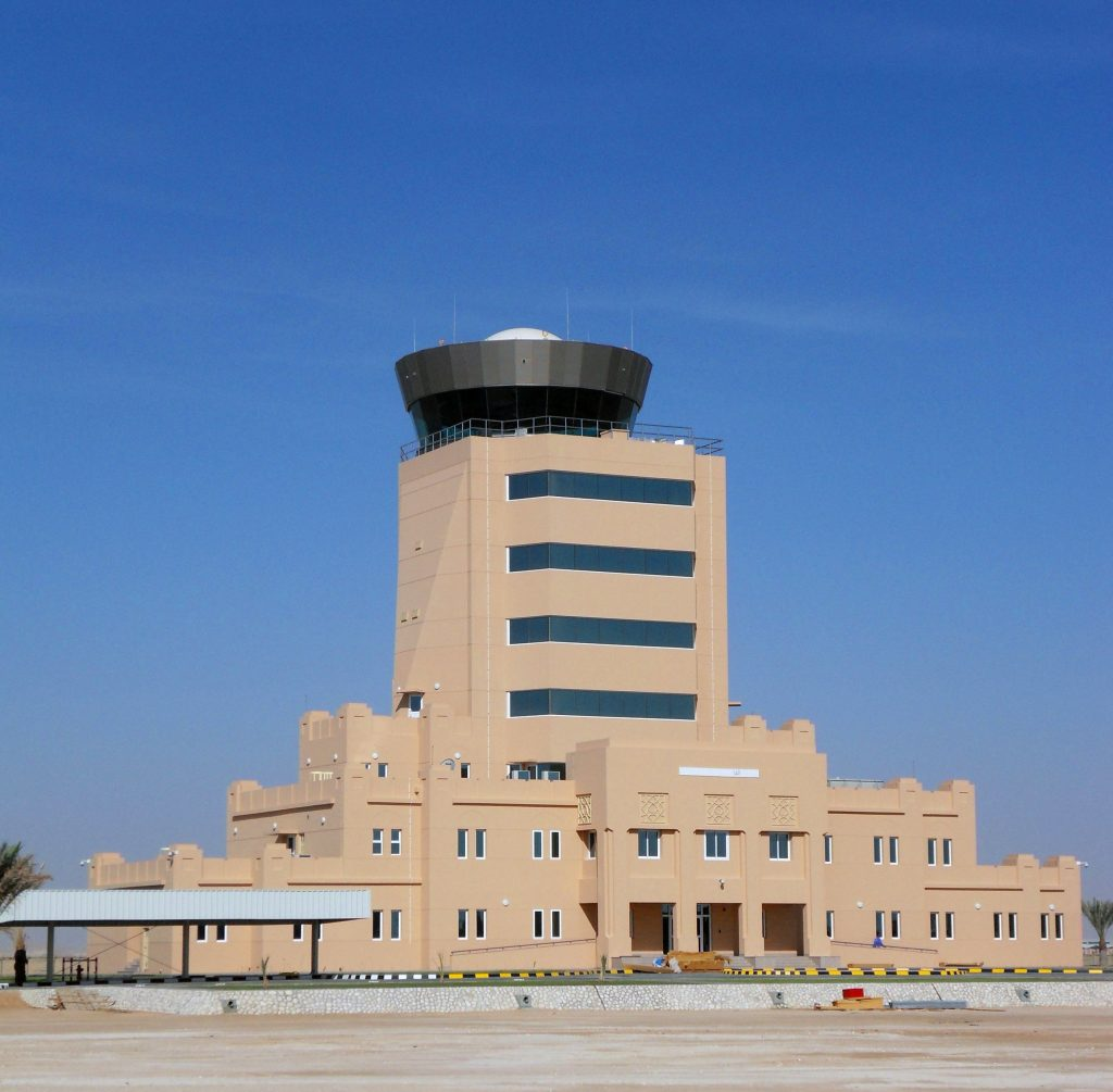 Completed air traffic control tower design by Tex ATC